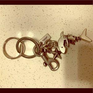 Coach shark keychain